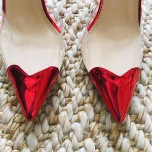 ae019a8366c Public Desire Shoes - Heartthrob heart court heels